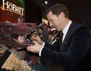 Benedict Cumberbatch at The Hobbit: The Battle of the Five Armies