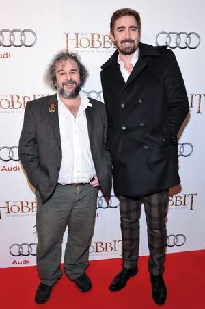 Peter Jackson and Lee Pace at The Hobbit: The Battle of the