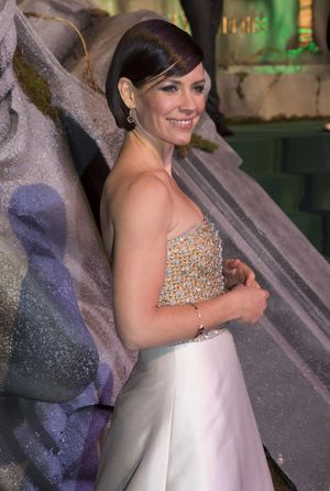 Evangeline Lilly at The Hobbit: The Battle of the Five Armies premiere