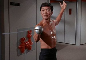 George Takei fencing