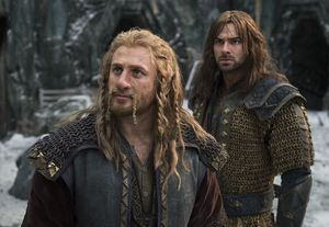Kili and Fili in The Battle of the Five Armies