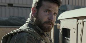 Bradley Cooper close-up - American Sniper