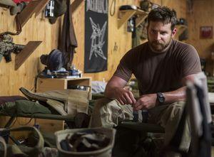 Bradley Cooper at base - American Sniper
