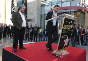 Andy Serkis' speech at the Peter Jackson Walk of Fame Star e