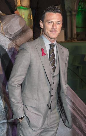 Luke Evans at The Hobbit: The Battle of the Five Armies premiere