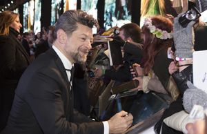 Andy Serkis at The Hobbit: The Battle of the Five Armies premiere
