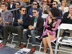 Orlando Bloom, Lee Pace, Elijah Wood and Evangeline Lilly at