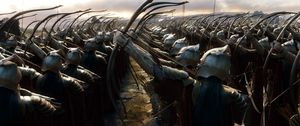Army ready to shoot arrows - The Battle of the Five Armies