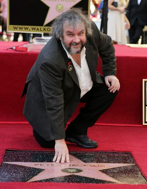 Peter Jackson and his Walk of Fame Star