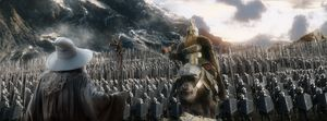 Huge army in The Hobbit: The Battle of the Five Armies