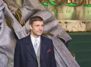 Martin Freeman at The Hobbit: The Battle of the Five Armies