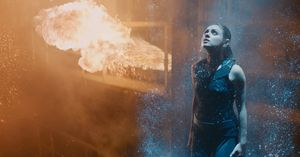 Mila Kunis, fire, water - Jupiter Ascending