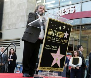Peter Jackson speech Walk of Fame Star