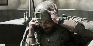 Bradley Cooper losing it - American Sniper