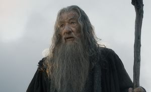 Gandalf flabbergasted