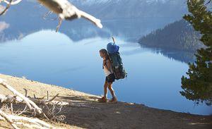 Nice lake view in film Wild