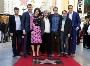 The Hobbit: The Battle of the Five Armies cast at the Walk o