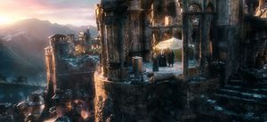 Castle shot - The Battle of the Five Armies