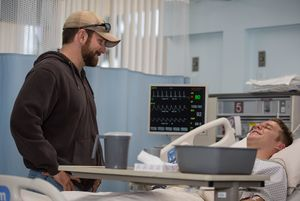 Bradley Cooper visits Jake McDorman in the hospital - Americ