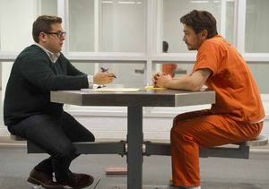 Jonah Hill and James Franco talk in prison