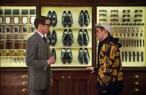 Harry Hart recruiting Eggsy