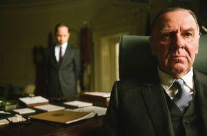 Tom Wilkinson as President Lyndon B. Johnson