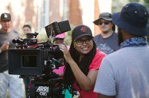 Ava DuVernay on set of Selma