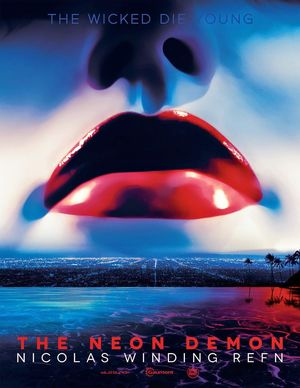 Teaser Poster for Nicolas Winding Refn's 'The Neon Demon'