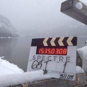 On-set photo from Spectre