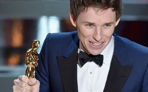 Eddie Redmayne Wins Best Actor for The Theory of Everything