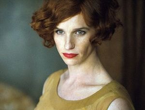 First Look at Eddie Redmayne in 'The Danish Girl'