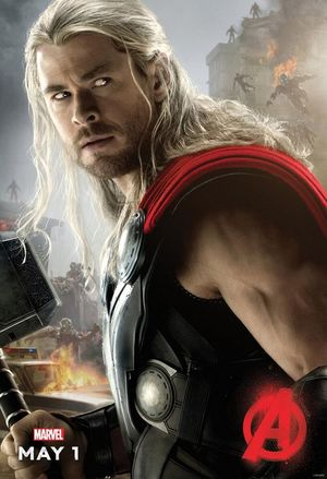 Thor Avengers: Age of Ultron Character Poster