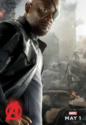 Nick Fury Avengers: Age of Ultron Character Poster