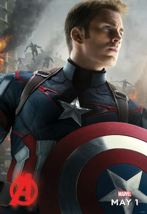 Captain America Gets His 'Avengers: Age of Ultron' Character