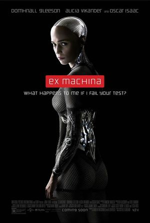 What Happens to Me If I Fail Your Test? New Poster for 'Ex M