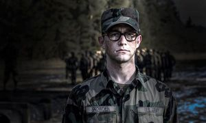 First Look at Joseph Gordon-Levitt as Edward Snowden in Oliv