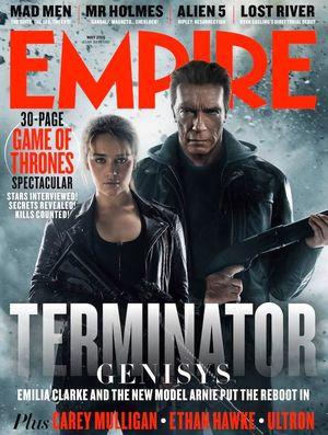 Empire Terminator: Genisys Cover 1
