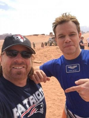 First Look at Matt Damon and the Practical Rover in Ridley S