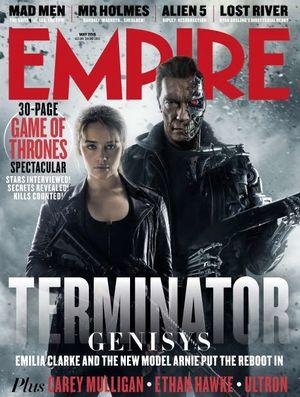 Empire Terminator: Genisys Cover 2