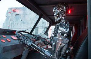 Driving around - Terminator Genisys