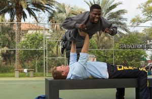 Will Ferrell Bench Presses Kevin Hart