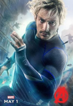 Aaron Taylor-Johnson as Quicksilver character poster