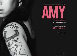 Official Poster for Amy Winehouse Documentary, 'Amy'
