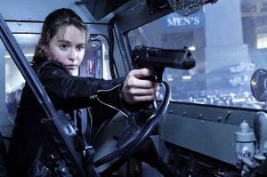 Emilia Clarke as Sarah Connor in Terminator: Genisys