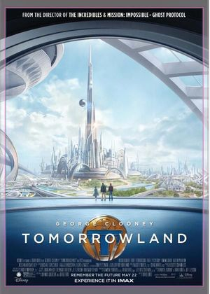 New IMAX Poster for Disney's 'Tomorrowland'
