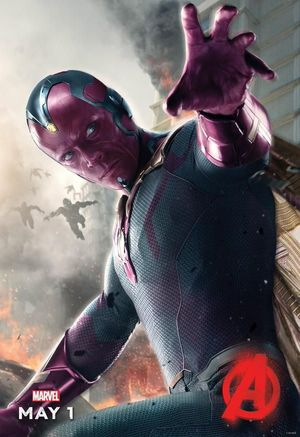 The Vision Gets His Own 'Avengers: Age of Ultron' Poster