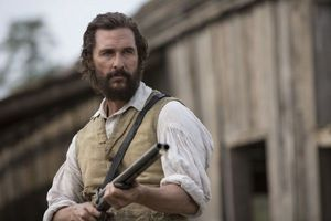 Matthew McConaughey with Gun in Hand