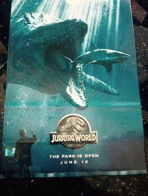 The Park is Open in New 'Jurassic World' Poster