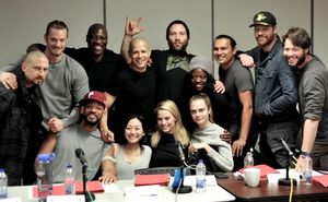 First Cast Photo from David Ayer's 'Suicide Squad' Minus Jar
