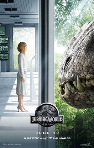 New 'Jurassic World' Poster Features Intimidating Stare Down